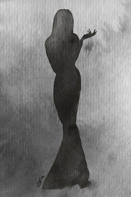 Morticia Addams by *Guyom on deviantART
