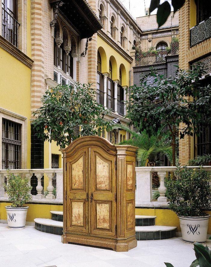 Armario r stico decorado soltau muebles armarios de - Entradas de casas rusticas ...