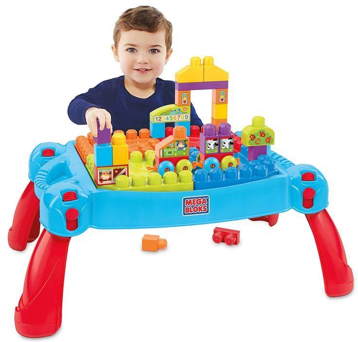 Mega+Bloks+Build+'n+Learn+Table+Building+Set+$25+{reg.+$44.99}
