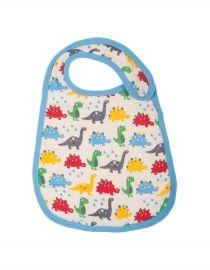 Frugi Organic | #Muslin Bib | Dino Parade | ACA402 - #HerbertandStella #Frugi #Yorkshire #kids #clothes #boutique #shop