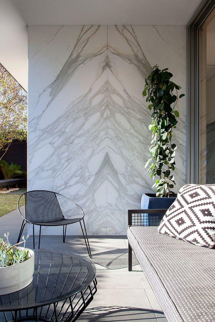 // Malvern East Residence By Pleysier Perkins, Landscape Design: Jack Merlo Design, Builder: Wade Builders, Photography by Hilary Bradford