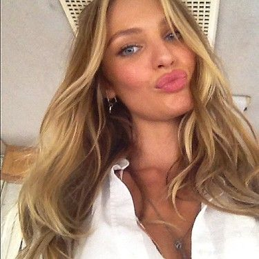 new hair color natural highlights candice swanepoel