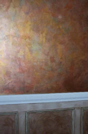 36 best faux finishes images on pinterest murals paint for Ceiling mural painting techniques