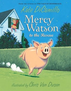 Mercy Watson series by Kate DiCamillo. Another all-too-brief series (these books are hilarious!) - perfect for first graders.