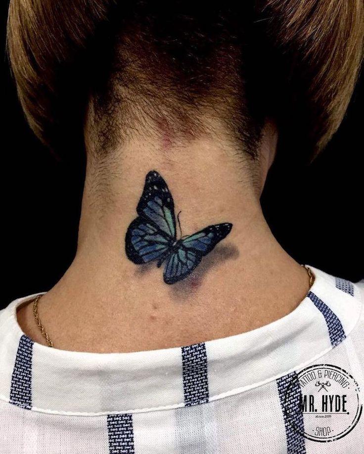 les 25 meilleures id es de la cat gorie tatouage papillon. Black Bedroom Furniture Sets. Home Design Ideas