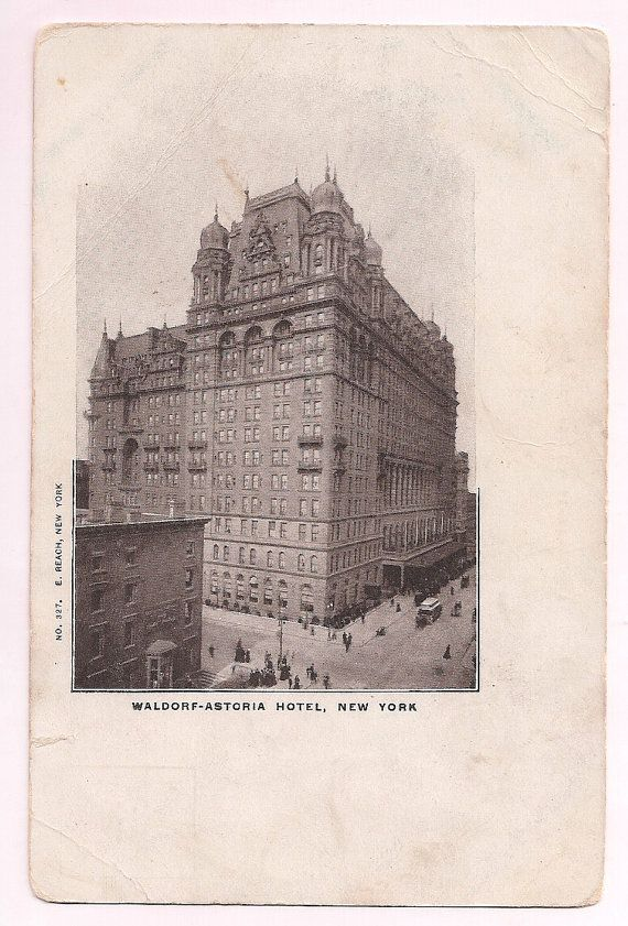 583 best images about antique postcards vpr on pinterest for Waldorf astoria antiques