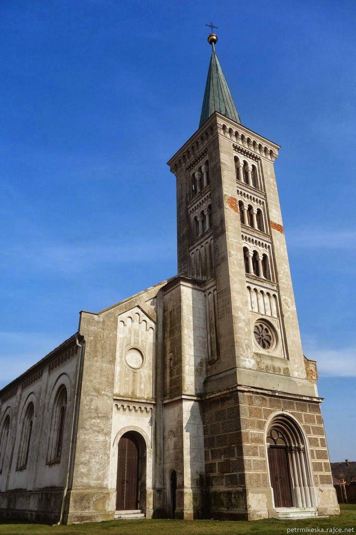 kostel ve Slezských Rudolticích