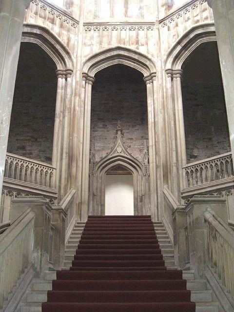 Castillo de Margam - Escalera interior