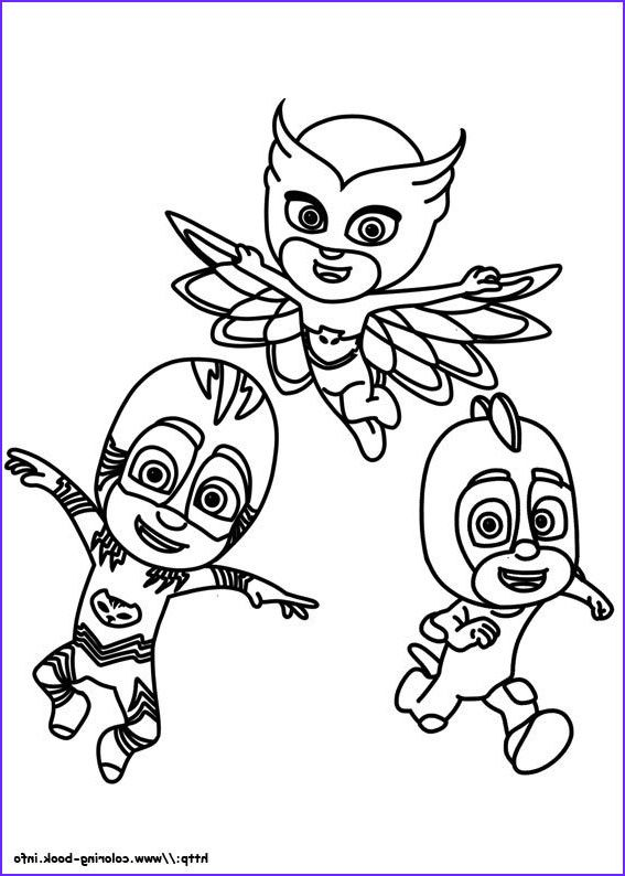 45 Elegant Photography Of Pj Mask Coloring Page In 2020 Pj Masks