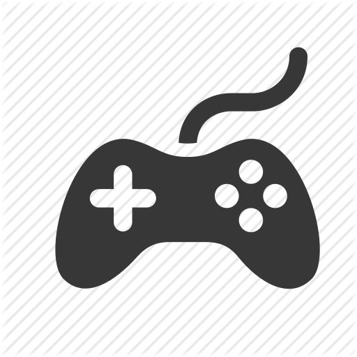 computer network, controller, game pad, joystick, pictogram, raw, simple, tech, technology, video game icon,Printing and Typography