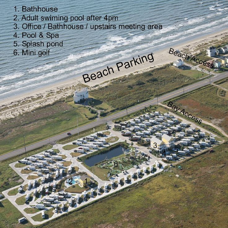 Jamaica Beach Rv Park Galveston Tx Travel Pinterest