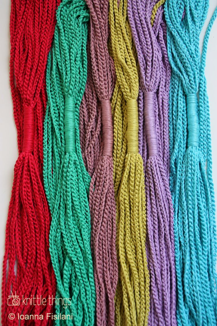 Knittle Things feel the breeze ♥ crochet colorful infinity scarves | cotton