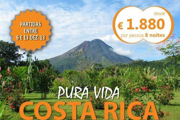 Oferta de viagem Costa Rica - Pura Vida