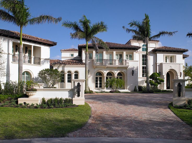 The 21 best mediterranean mansions architecture plans for Best home builders in south florida
