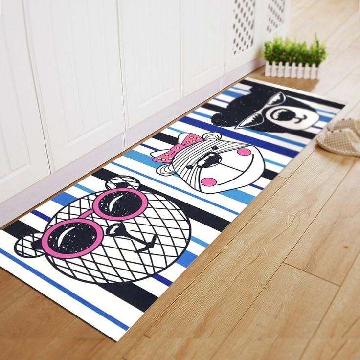 Дэян мультфильм спальня прикроватные коврики коврики для ванной кухни тонкий срез масла - поглощая коврики тряпка -tmall.com Lynx