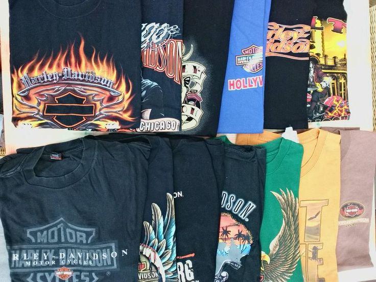 Harley Davidson T shirt Sammlung, 13 x Gr. L