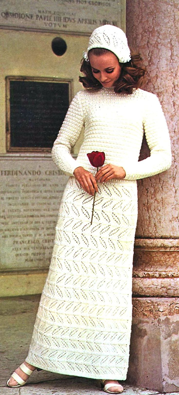 Wedding Knitting Patterns : 17 Best images about Vintage Wedding knitted items on Pinterest Vintage, Vi...