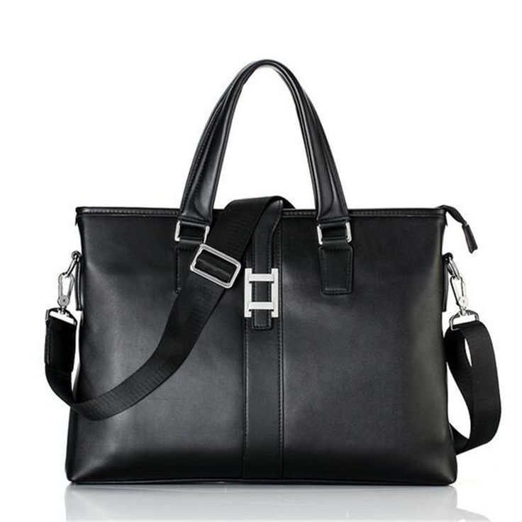 47.42$  Buy here  - 2016 new men's bag man bag business document hand shoulder Messenger office bags for men leather briefcase men