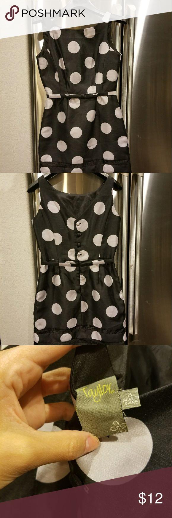 Super cute cocktail dress Polka dot, cute fit Dresses Mini
