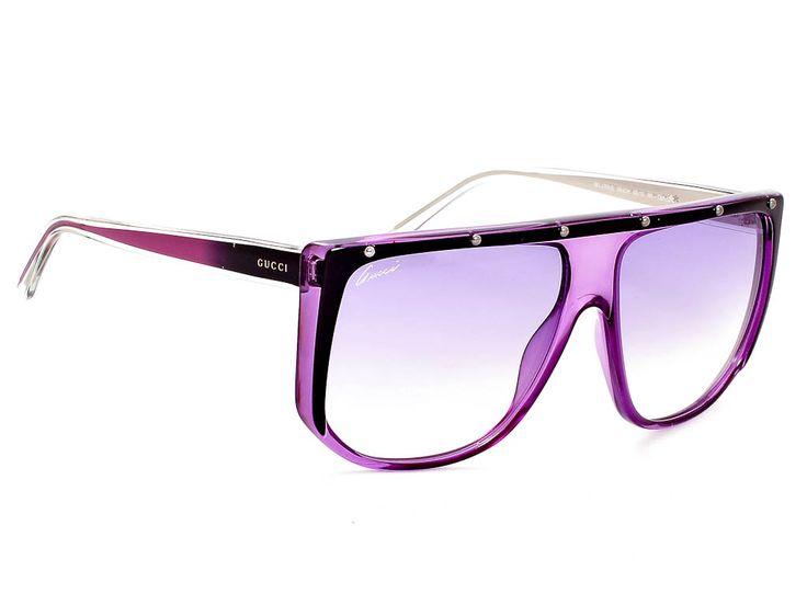 Νέα συλλογή γυαλιών ηλίου #Gucci 2015 - #Gucci GG3705/S/9W2/DH/62/15 - Με φουτουριστική διάθεση και μινιμαλιστικά στοιχεία τα γυναικεία γυαλιά ηλίου #Gucci GG3705 έρχονται να μας εντυπωσιάσουν. Κοκάλινη μάσκα σε προκλητικά μεγάλο μέγεθος, στις αποχρώσεις της κρυσταλλικής διαφάνειας τα γυαλιά #Gucci GG3705 αποτελούν από μόνα τους statement. Ιδανική επιλογή για τη γυναίκα του σήμερα που θέλει να ξεχωρίζει. - #sunglasses #gucci #optofashion