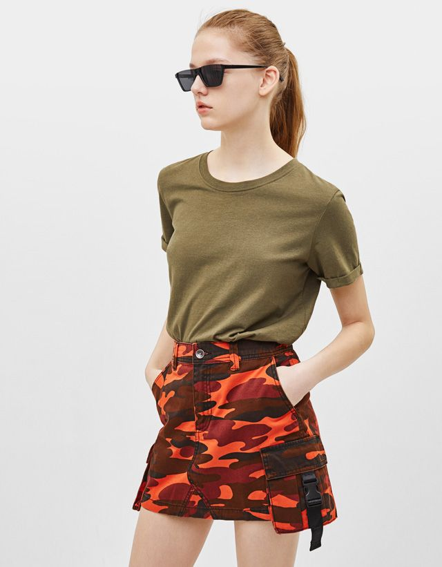 97b526148 Women's Skirts - Spring Summer 2019 | Bershka | summer fashion in ...