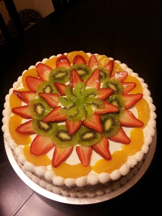 Pastel De Tres Leches In 2019 Fresh Fruit Cake