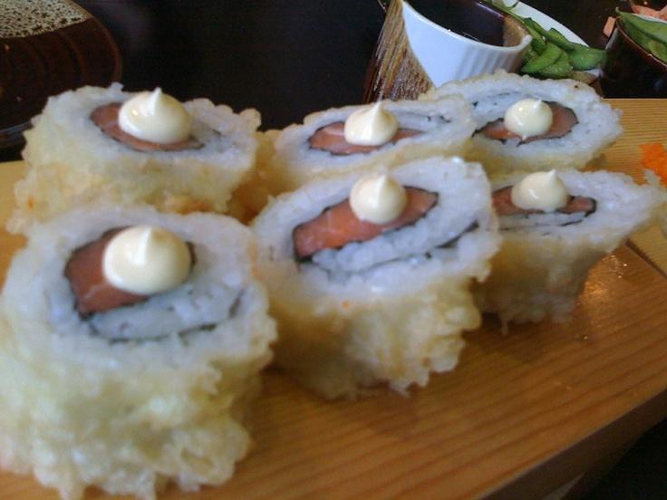 Yama tempura maki rolls