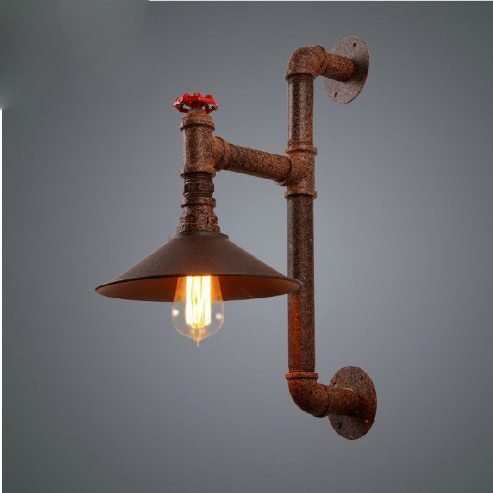 RH Loft vintage industrial edison pipe wall lamp light wall sconce
