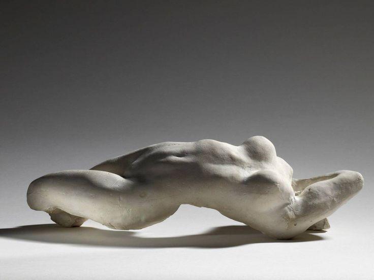 Auguste RodinTorse d'Adèle 1882 plâtre ; 13,3 x 44,6 x 18,9 cm.  Paris, musée Rodin, donation Rodin, 1916.
