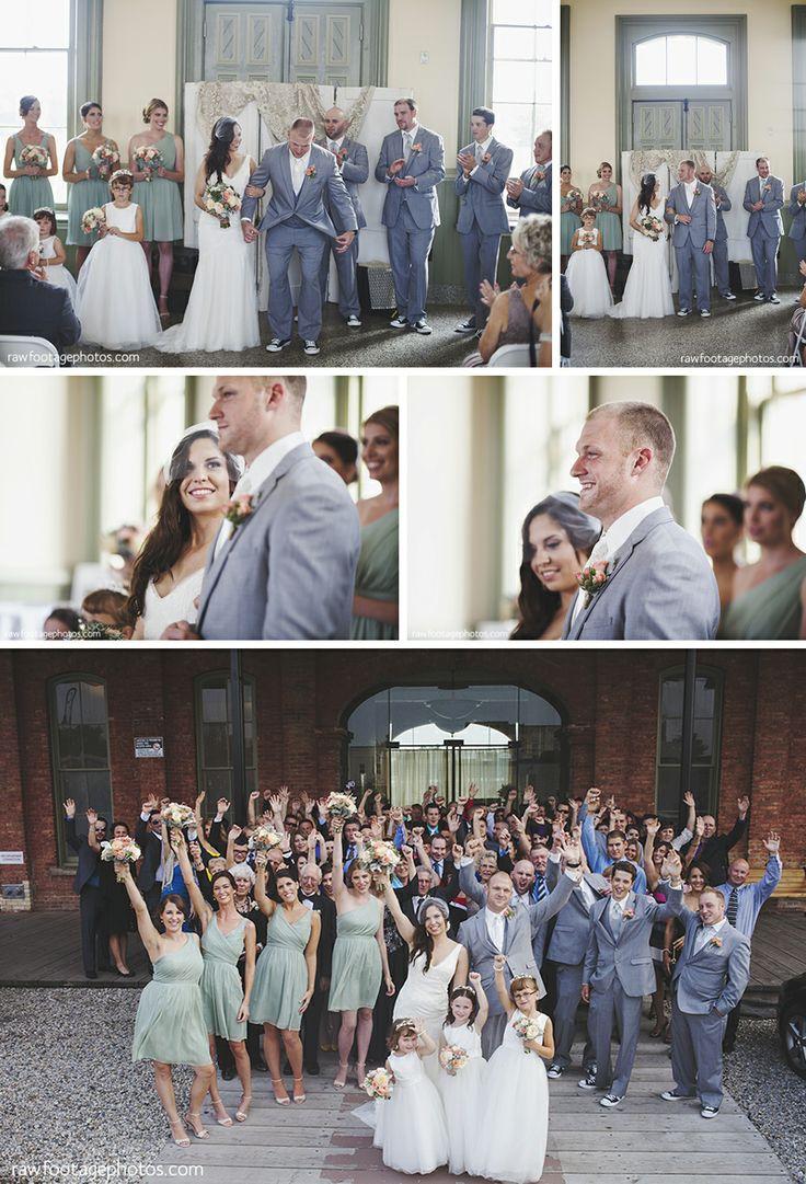 St.Thomas Train Station Wedding