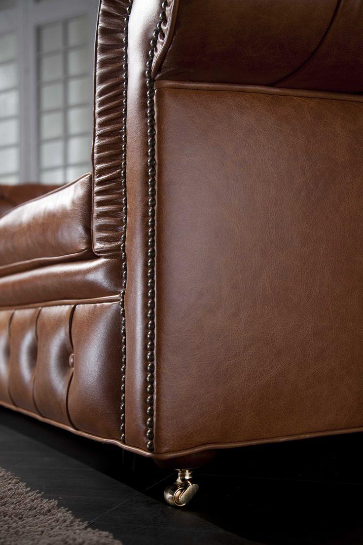tutti i divani Chesterfield capitonnè che produciamo sono curati in ogni dettaglio