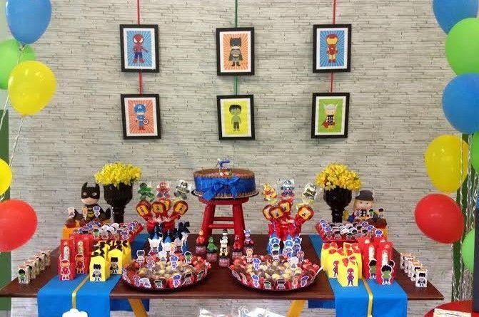 40 decorações de Festa Super Heróis pra inspirar você