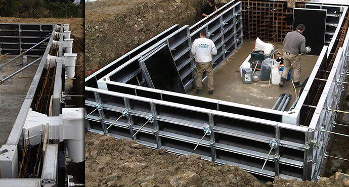 Construire soi même sa piscine béton carrelée comme un pro - construire sa piscine beton