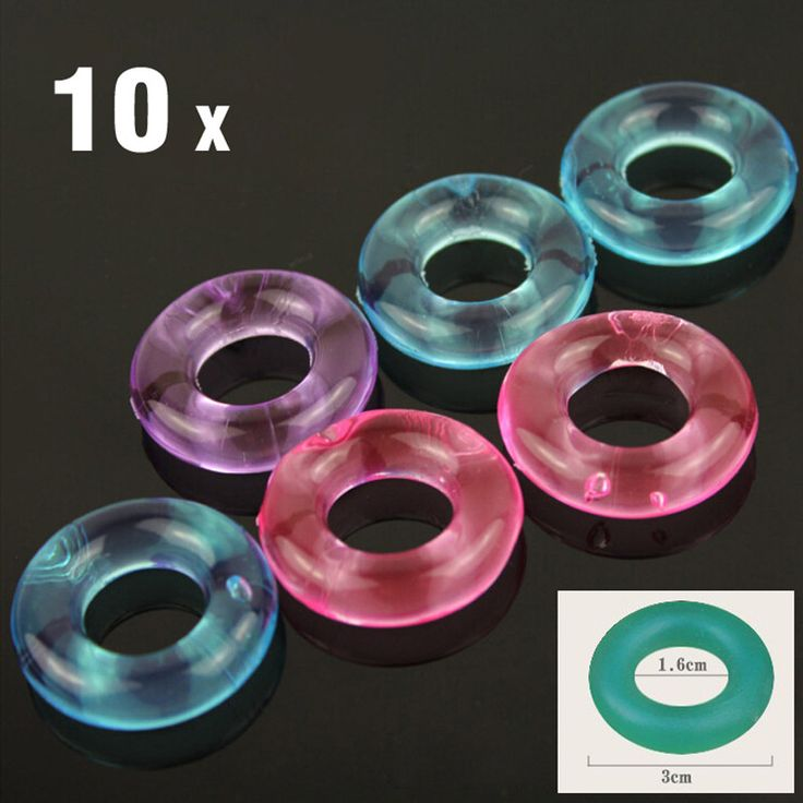 10Pcs Stay ᑐ Hard Donuts Silcone Cock Rings, Delaying ► Ejaculation Rings, Penis Ring, Flexible Glue Cock Ring, Sex Toys for Men10Pcs Stay Hard Donuts Silcone Cock Rings, Delaying Ejaculation Rings, Penis Ring, Flexible Glue Cock Ring, Sex Toys for Men