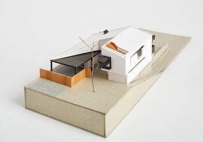 Architectural Model - Nola Avenue House, Scarborough. Philip Stejskal Architecture