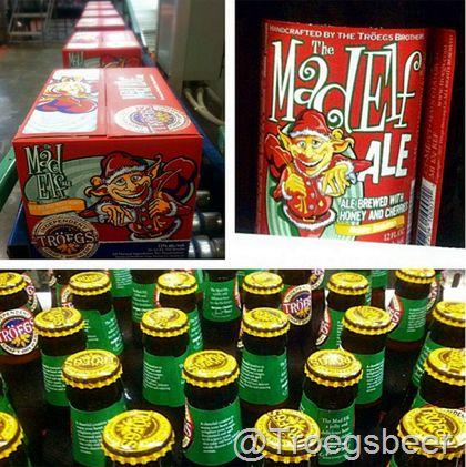 mybeerbuzz.com - Bringing Good Beers & Good People Together...: Troegs Bottles 2st Batch of Mad Elf Today!