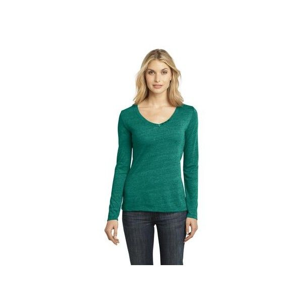 District Made - Ladies Textured Long Sleeve V-Neck with Button Detail. DM472  If you would like to place a order for this shirt please email us atsales@adaprint.comor give us a call at 281-353-4646. We also have a location on Aldine Westfield in Spring. 23333 Aldine Westfield Spring TX 77373. http://temporary.houstonprint.com/index.php?id_product=1046&controller=product