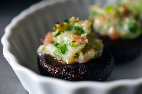 Paleo Shrimp-Stuffed Mushrooms | Award-Winning Paleo Recipes | Nom Nom Paleo