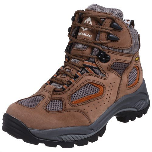 Vasque Men's Breeze GTX Hiking Boot,Taupe/Burnt Orange,9.5 M US