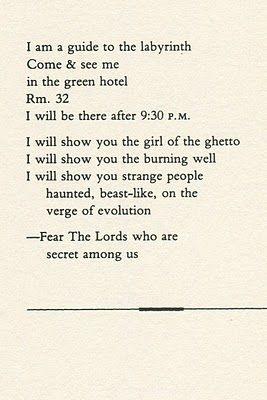 I don't fear the Lords, but I adore how he tells me to <3 - Jim Morrison