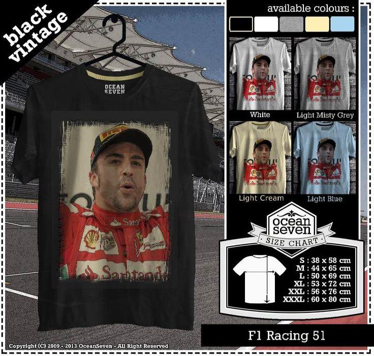 Kaos Balap F 1 | Formula One Racing  series 5