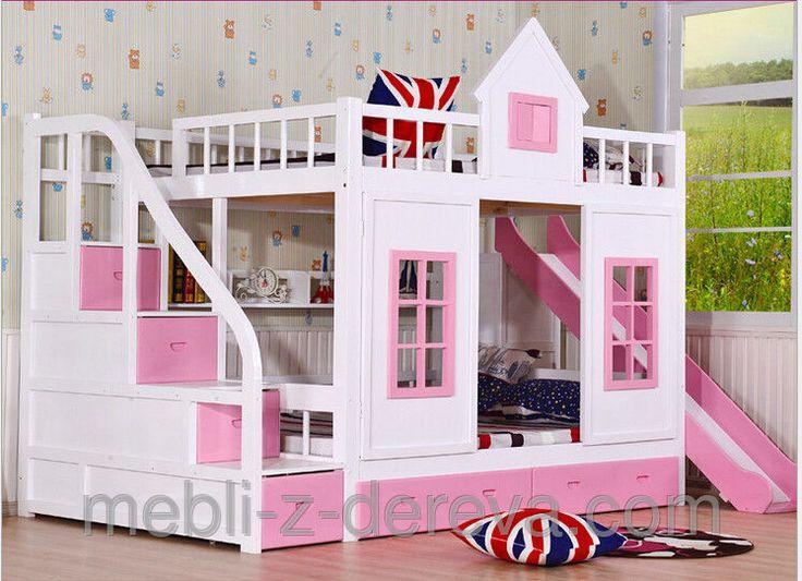 Двухъярусная кровать Замок Принцессы, фото 1