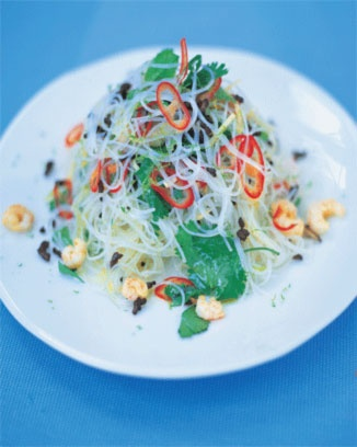 Thai Noodle Salad - not that great. But I don't particularly care for mint in my salads.