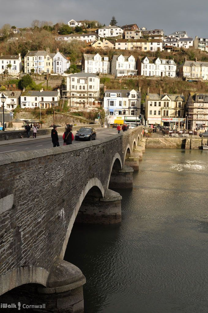 The bridge at Looe, Cornwall