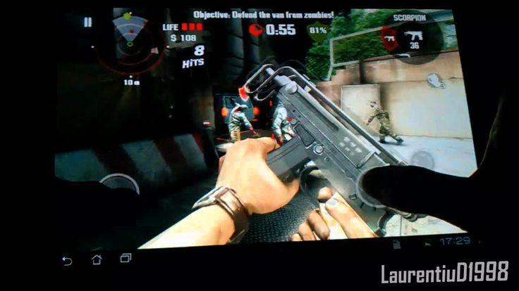 Joc Android: Dead Trigger pe Transformer TF101 (+playlist)