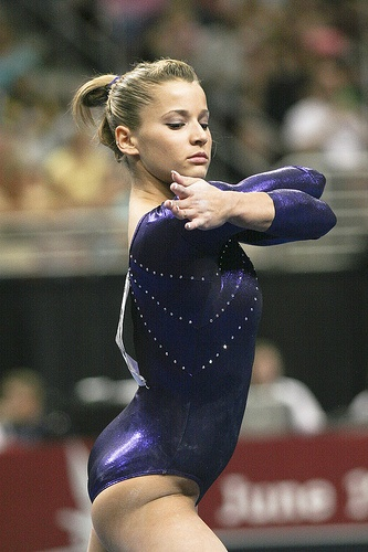 Alicia Sacramone by jodfevic, via Flickr  gymnast, gymnastics