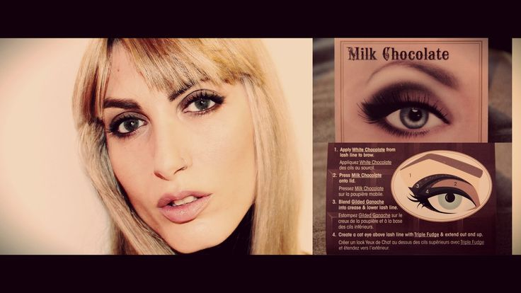 Too Faced Chocolate Bar Look #1 Milk Chocolate | MichelaIsMyName ♥