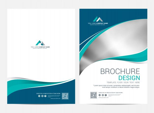 Brochure Template Flyer Design Vector Background Brochure