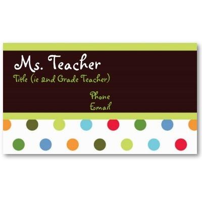 Best Business Cards Images On Pinterest Cards Teacher - Substitute teacher business card template