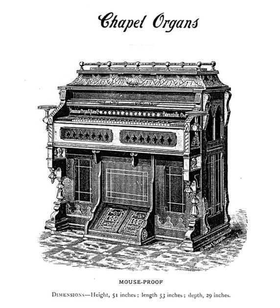Dominion 1891 - 1M Chapel Organ